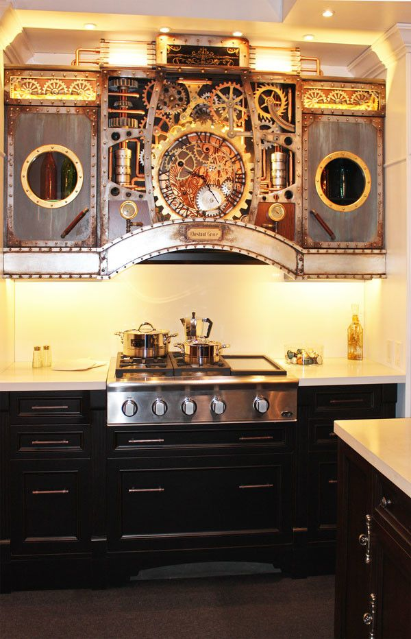 Best 25 steampunk kitchen ideas on pinterest steampunk Steampunk home ideas
