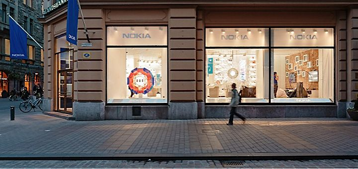 Nokia flagship store by Sundae Creative & 1RetailProject, Helsinki