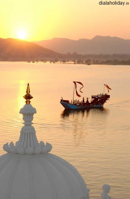 Happiness is not a state to arrive at. But a manner of #travelling. — at Pushkar Lake