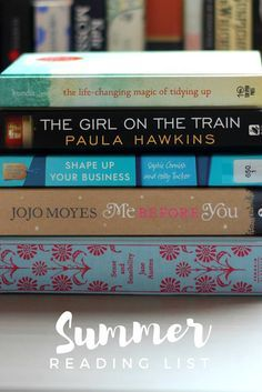5 books to add to your summer reading list for 2016; Novels and non-fiction to help relax, entertain and inspire this summer.