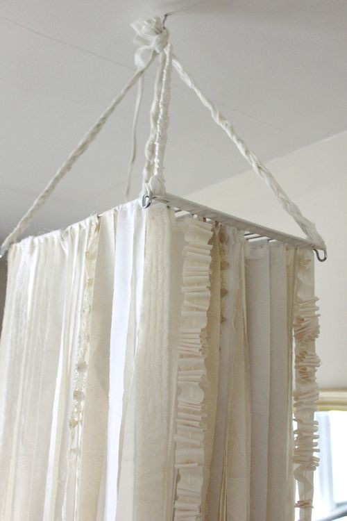 how to make a changing room with curtains