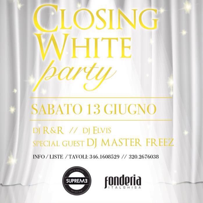 #supremestaff #supreme #ClosingParty #WhiteParty #onlywhite #hiphop #dimitrimazzoni sabato 13.6.15