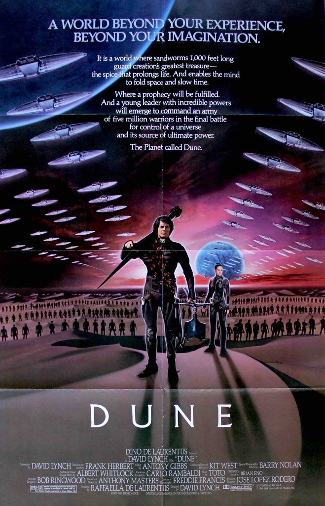 Dune (1984) Original One Sheet Movie Poster