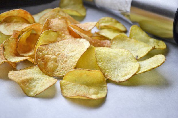 Selbstgemachte Chips