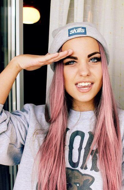 Hipster Hair <3 This is the color I want my hair to be.
