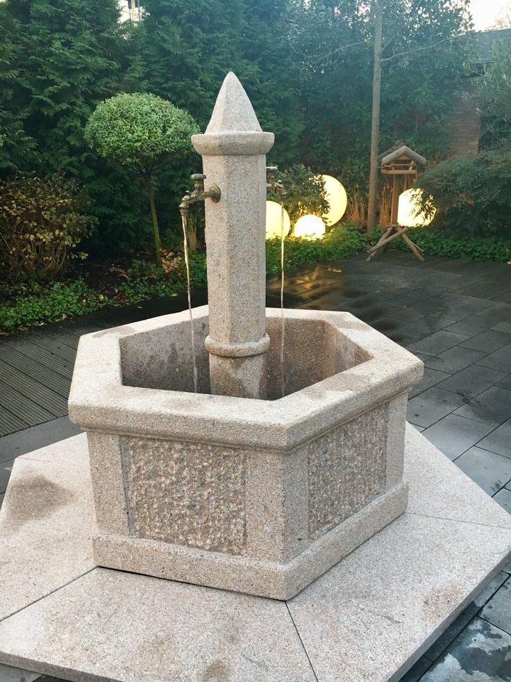 #Gartenbrunnen - #Natursteinbrunnen - #Wasserspiel - #Garten - #Oase - #Garden - #Water - Ladekran - Kran - #Steinmetz - #Gestaltung - Dekoration - www.steinmetz-rheinbach.de - #Grabmale Samulewitz in Rheinbach