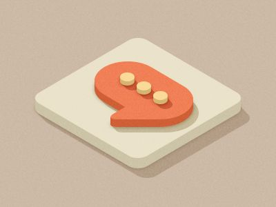 Squares Isometric by Oleg Turbaba #flat #design #inspiration #3d #icon