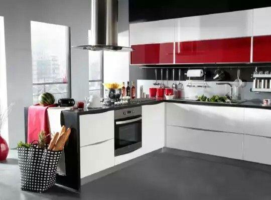 Modern mutfak dolapları modelleri ile ilgili fikirler