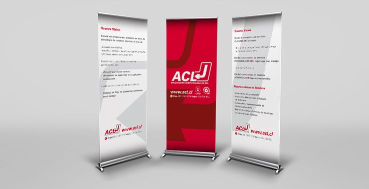 ACL | Piezas Gráficas | Banners