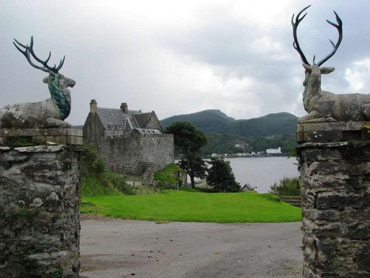 Duntrune Castle in Argyll Scotland, after which Skyfall Lodge was modeled.