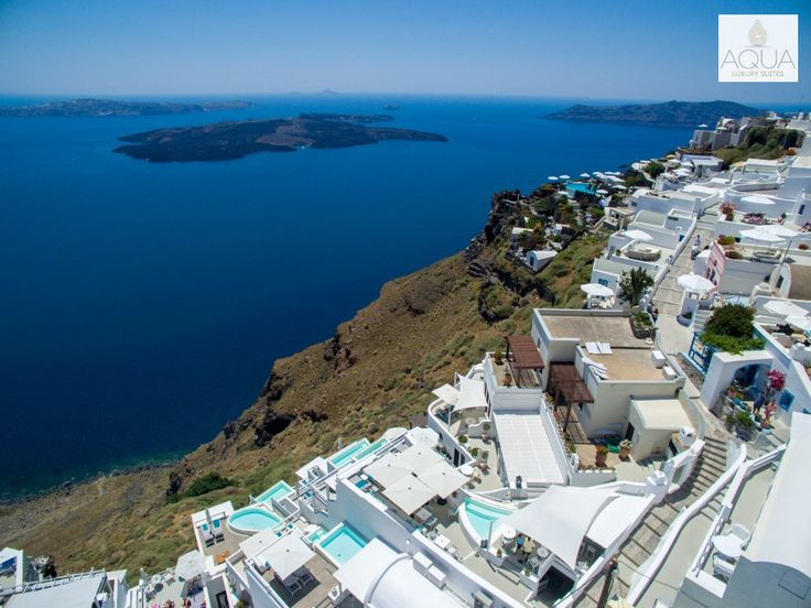 Breathtaking views from Imerovigli in Santorini...Amazing! #aqua #resort #santorini #view #greece #holidays #vacation