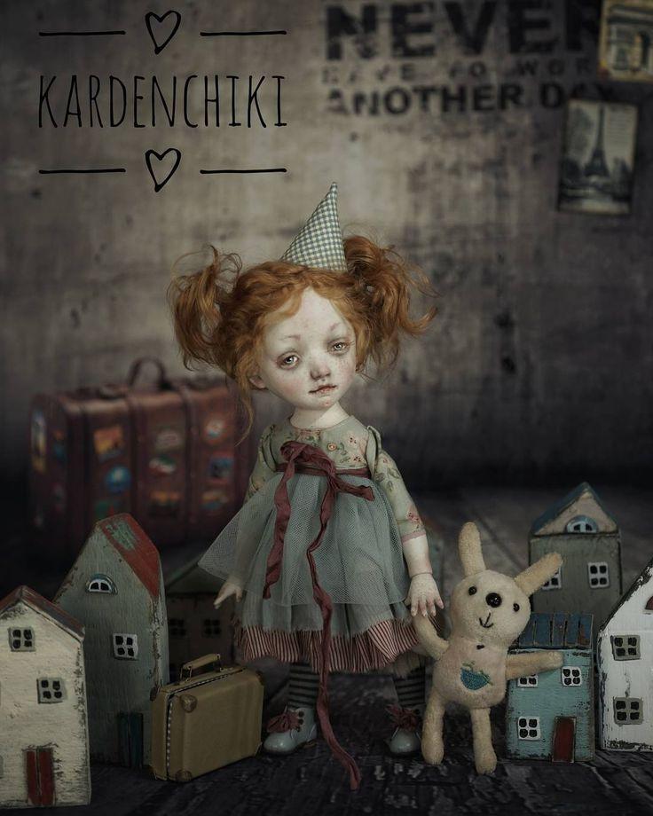 Маленькое счастье #kardenchiki #kardenchiki_art_doĺls #artdoll   https://www.facebook.com/kardenchiki/
