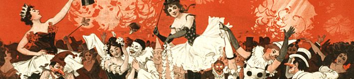 The Performing Arts posters illustrate the wide range of popular, live entertainment in America from the late nineteenth to the early twentieth century. The approximately 2,100 posters in the online Performing Arts Posters category represent the entire contents of three collections: the Magic Poster Collection, the Minstrel Poster Collection, and the Theatrical Poster Collection. Image: Bon Ton Burlesquers, 1898.