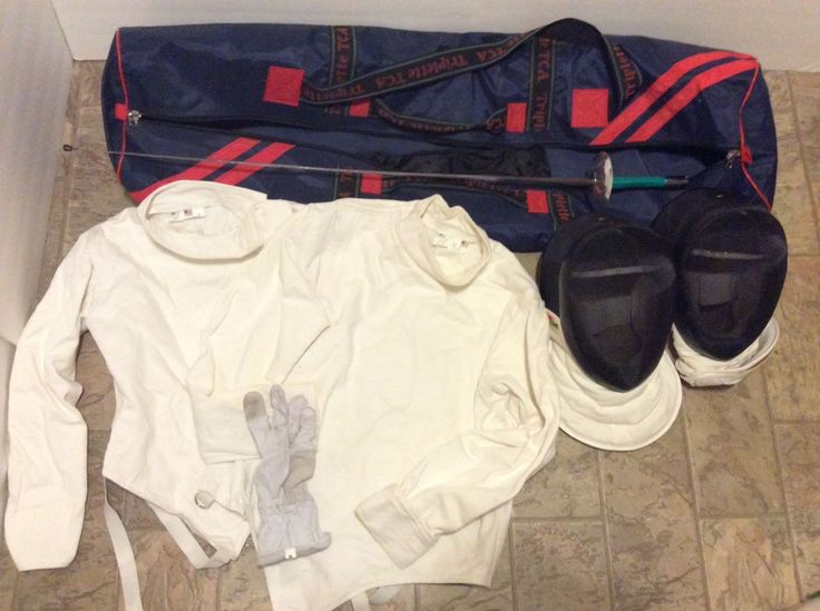 @fencinguniverse : LOT! Triplette Fencing Gear Set! Made In USA! 2 Masks Tops Glove Sword Bag Epee!  $189.99  http://aafa.me/2mMa0gS http://aafa.me/2mgLYNk