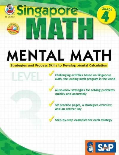 Mental Math Grade 4: Strategies and Process Skills to Develop Mental Calculation