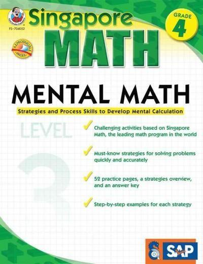 Mental Math Grade 4: Strategies and Process Skills to Develop Mental Calculation