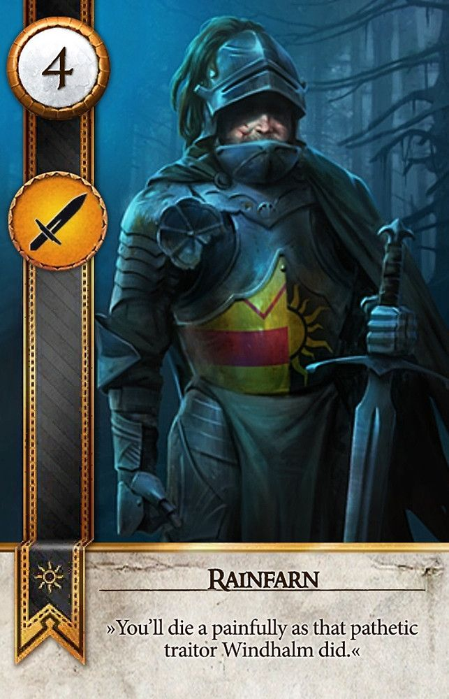 Rainfarn (Gwent Card) - The Witcher 3: Wild Hunt