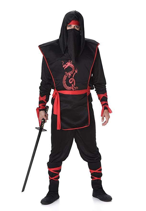 Homme Stealth Ninja Adulte Costume Halloween