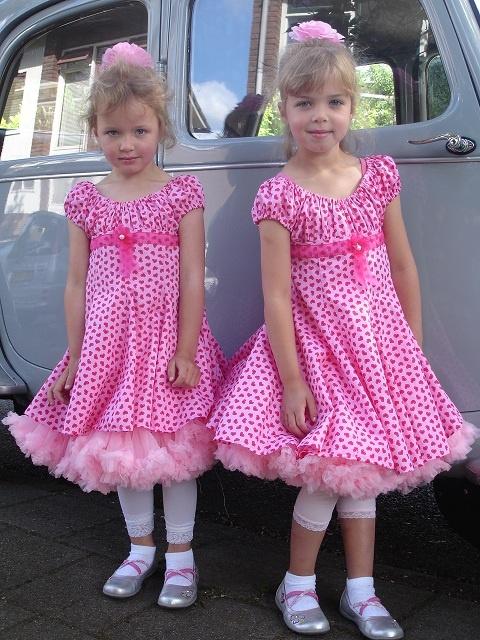 Blumenkind, Kleid nähen für Blumenkinder, farbenmix