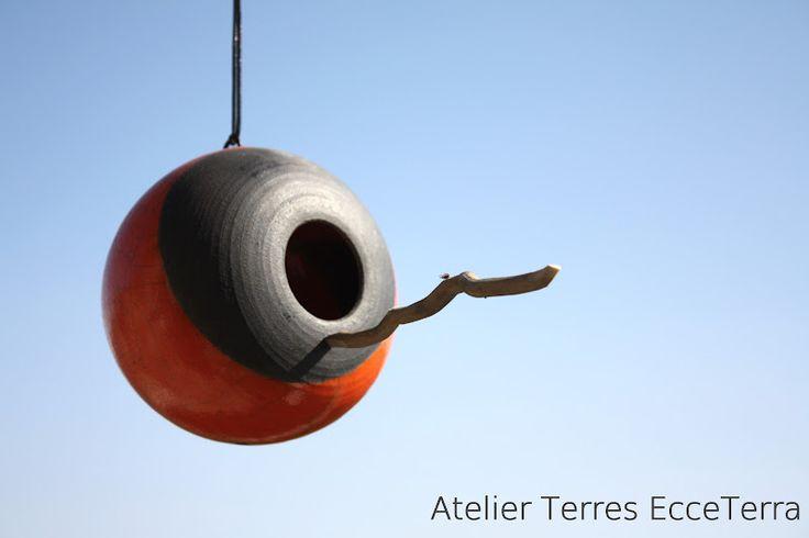 Atelier Terres EcceTerra Tiphaine BOHLA: Nichoir à oiseau
