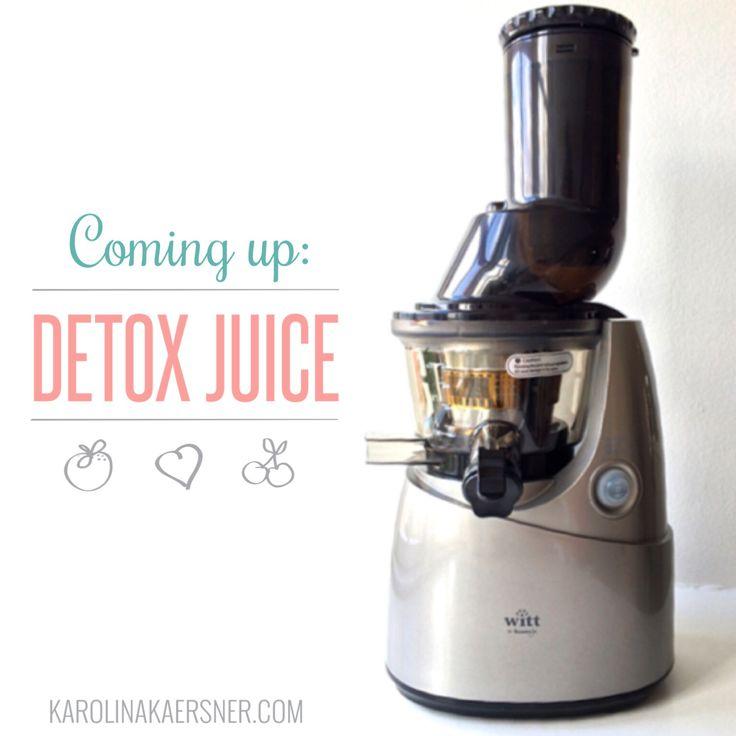 Opskrifter på 25 x lækre sunde og udrensende detox juice!