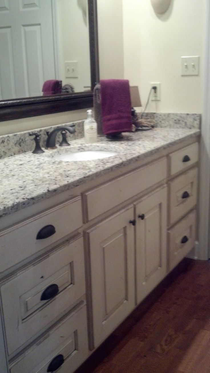 Adkisson S Cabinets White Painted And Distressed Knotty Alder Cabinets Dream Home Pinterest