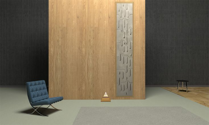 Icicles - Ceramic 3D Wall by Grzeskiewicz Design Studio