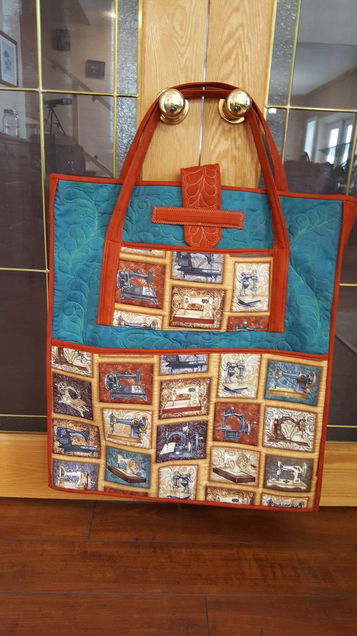Quilting bag (retreat project 2018)