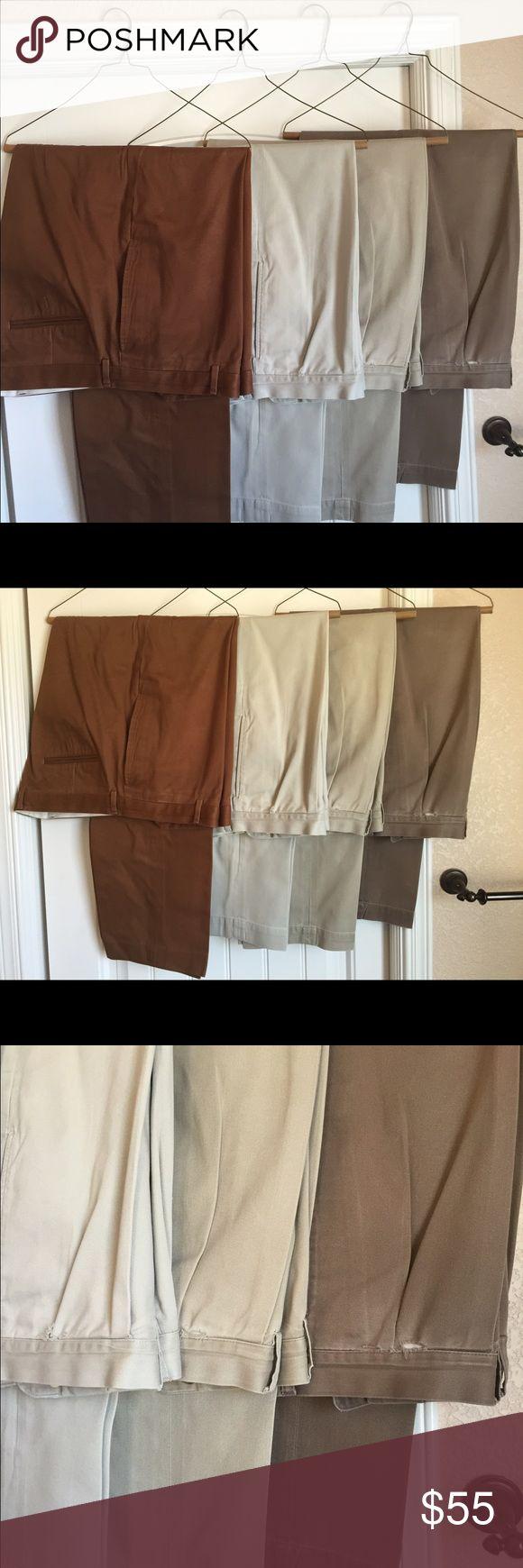 4 Pair Ralp Lauren Men's Dress Pant 4Psir Men's Ralp Lauren Dress Pants. Slightly Used. Ralph Lauren Pants