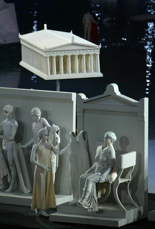 Τελετή 'Εναρξης Ολυμπιακών Αγώνων - Αθήνα 2004 Κλεψύδρα