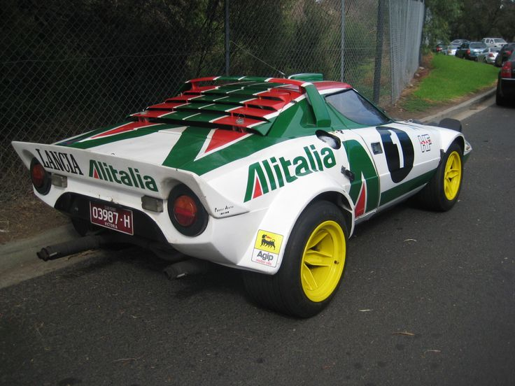 lancia stratos – some of my favorite livery of all time