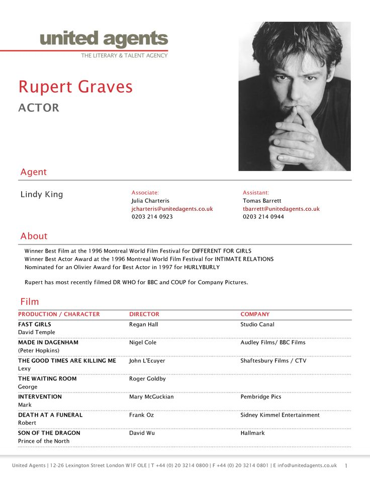 resume examples acting beginner example spotlight template - resume for actors