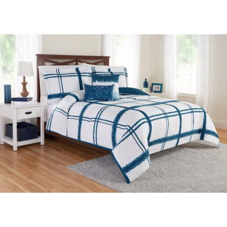 Best 25 navy blue comforter ideas on pinterest navy - Better homes and gardens comforter sets ...