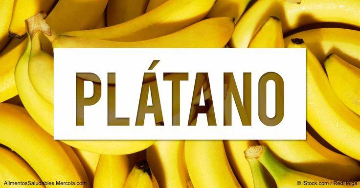 Aprenda más sobre el valor nutricional del platano, beneficios para la salud, recetas saludables, y otros datos curiosos para enriquecer su alimentación. http://alimentossaludables.mercola.com/platano.html?utm_source=espanl&utm_medium=email&utm_content=alimentos&utm_campaign=20170803&et_cid=DM153292&et_rid=2236565