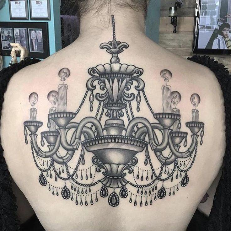 36 best Chandelier tattoos images on Pinterest | Chandelier tattoo ...