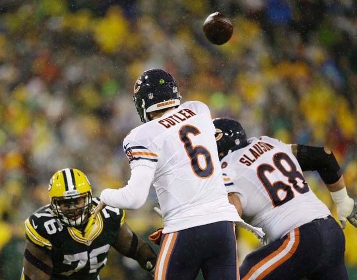 Jay Cutler over the middle.