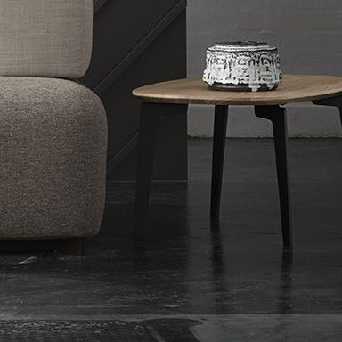 Join Coffee table - FH21, coffee table, oval - Fritz Hansen