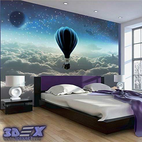 New 3D wallpaper designs for wall decoration in the home, 3d wallpaper for bedroom How to decorate your home with 3D wallpaper for wall, One of the best 3D wall covering and texture for unique interior 2018, Top tips on how to choose suitable 3D wallpaper for a wall in your home, All types of 3D wallpaper types and how to install it?