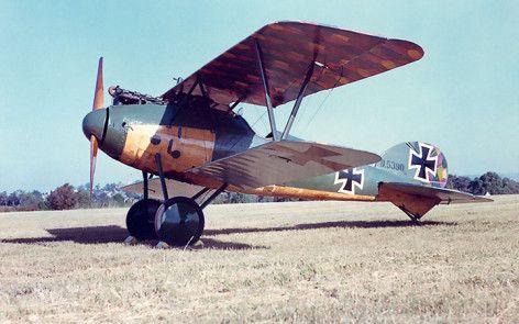 Albatros D.Va at Camden Serial D5390 17 - courtesy Ralph Cusack