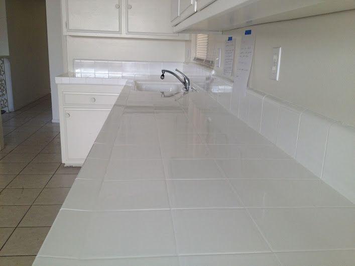Reglazing Kitchen Tile Countertops