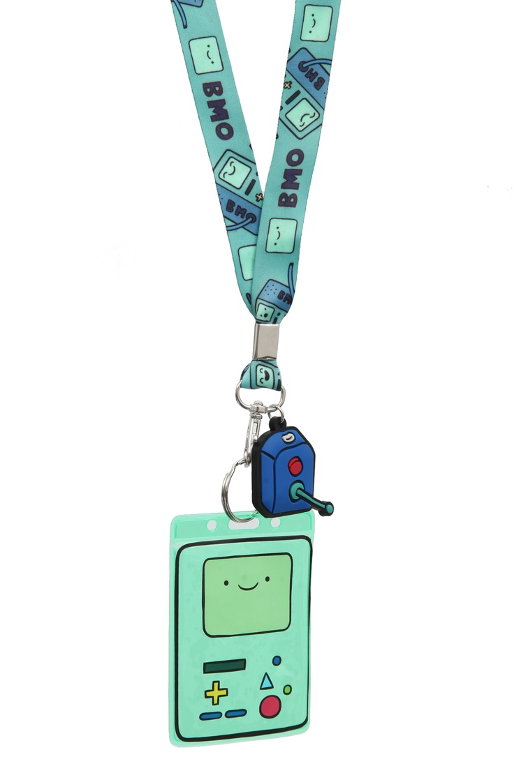 Adventure Time BMO Lanyard I need this now... :(