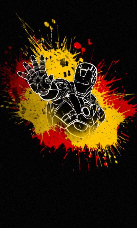 Iron Man Minimal Dark Artwork Wallpaper Iron Man Wallpaper Iron Man Artwork Man Wallpaper