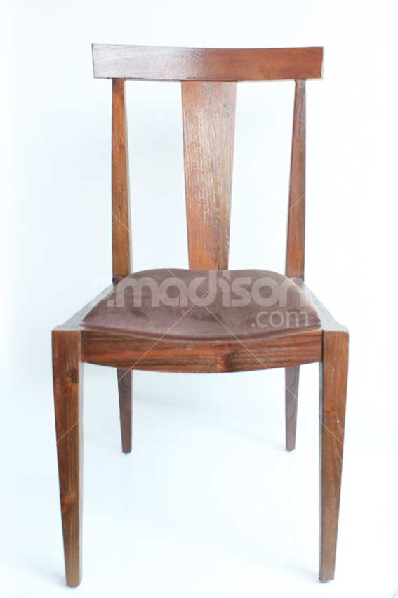 Retro Dining Chair With Cushion  www.2madison.com  Designer : Madison  Collection : The Soho Series