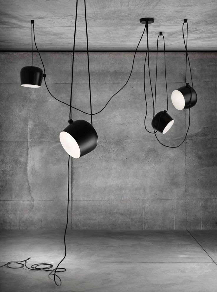 AIM, the latest design from Ronan and Erwan Bouroullec for FLOS, defies all convention when it comes to positioning your ceiling light.