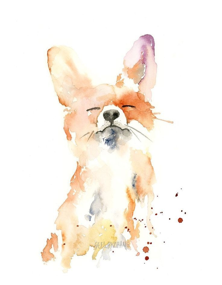 Artist's whimsical watercolor animals bring attention to conservation