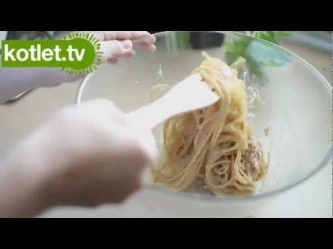 Spaghetti alla carbonara przepis | Kotlet.TV