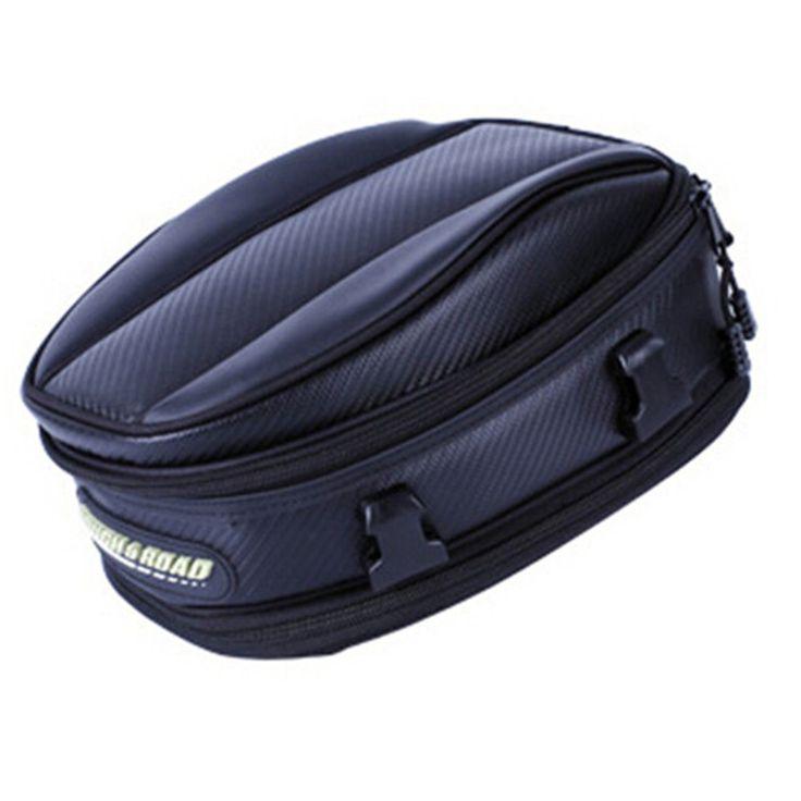 TOMEFON Rough&Road motorcycle bagseat bag Carborn fiber Storage backpack Motocross riding bag Outside racing gear for KAWASAKI #Motorcycle Backpacks