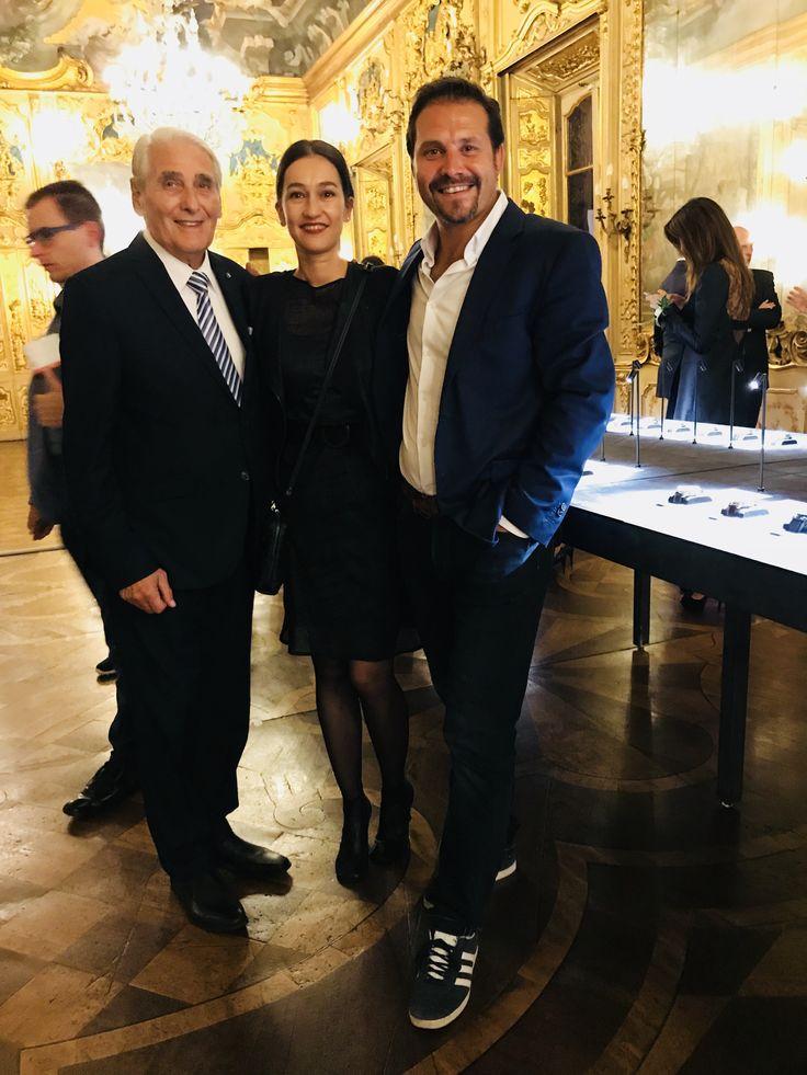 Thanks You! Carlo Lamprecht  and Carine Maillard (GPHG President&Director) @fondationgphg #palazzoclerici #milano #freeaccessdisplay