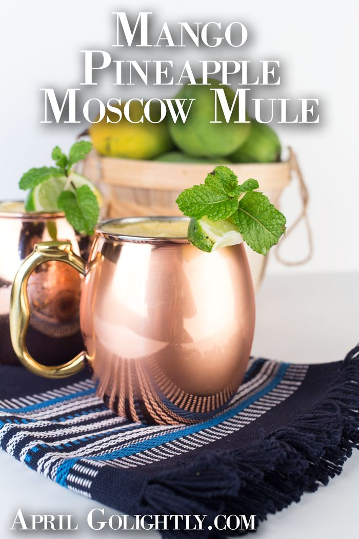 Mango Moscow Mule …