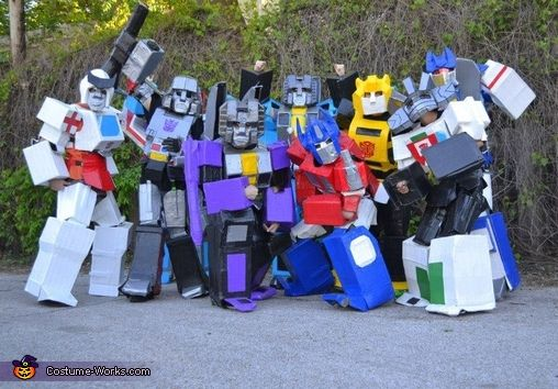 Duct Tape Transformers - 2016 Halloween Costume Contest